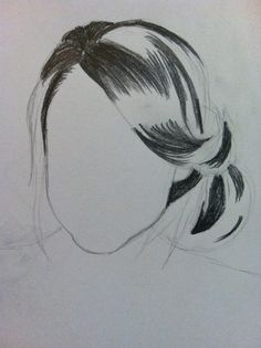 Drawing Hair Techniques Start with the darkest areas - Amazing Drawings, Love Drawings, Art Drawings Sketches, Pencil Drawings, Drawing Techniques, Drawing Tips, How To Draw Hair, Character Drawing, Figure Drawing