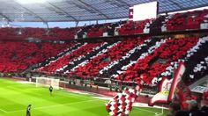 Bayer 04 Leverkusen Choreo gegen FC Bauern - YouTube