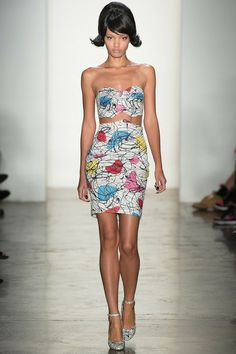 Boomerangs! - Jeremy Scott Spring 2014 Ready-to-Wear Collection Slideshow on Style.com