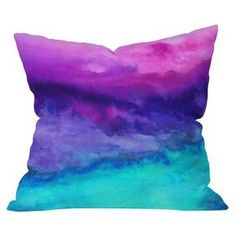 DENY Designs The Sound Throw Pillow : Target
