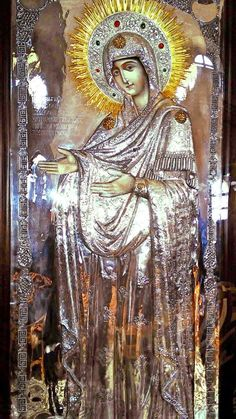Orthodox Catholic, Orthodox Christianity, Day Of Pentecost, Blessed Virgin Mary, Holy Family, Orthodox Icons, Blessed Mother, Mother Mary, Holy Spirit