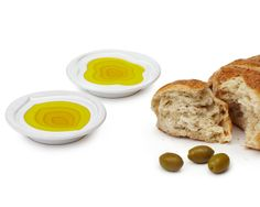 TIERED OLIVE OIL DISH