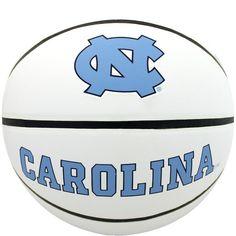 Baden North Carolina Tar Heels Official Autograph Basketball, Brown