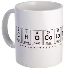 Chocolate Chemistry Mug for kids