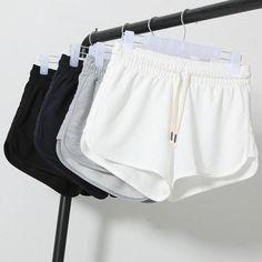 Summer Fashion Shorts Women Elastic Waist Short Pants Women