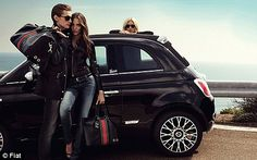 Fiat 500, by Gucci. I have one in red and I am completely in LOVE