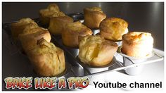 Easy Popovers recipe ! / Yorkshire pudding recipe - click the large image to see video recipe on my Youtube channel
