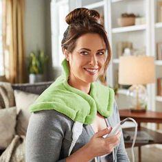 Sunbeam Heating Pad for Neck & Shoulder Pain Relief Shoulder Pain Relief, Neck And Shoulder Pain, Best Heating Pad, Amanda, Tory Burch, Dry Heat, Reptile Accessories, What's Trending, I Shop