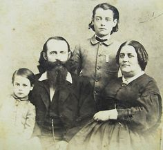 CIVIL WAR ERA CDV PHOTO OF THE HUTCHINSON FAMILY ABOLITIONIST SINGERS GROUP | eBay