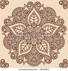 traditional mandala paisley design - Google Search