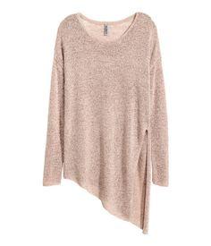 Glatstrikket trøje   Gammelrosa   Ladies   H&M DK