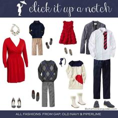 What to Wear in Family Photos – December 2013