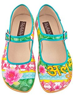 55602d9dde Hot Chocolate Design Chocolaticas Shanthi Women's Mary Jane Flat  Multicoloured US Size: 9 ❤ .