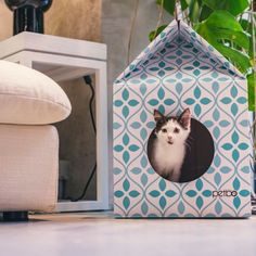 Petbo Flower cat playhouse
