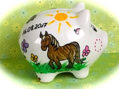 Piggy Bank, Etsy, Wrapping Gifts, Wedding, Money Box, Money Bank, Savings Jar