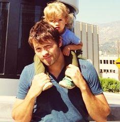 Baby Misha Collins!!! | Supernatural | Pinterest | Babies ...