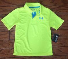 NWT-Under-Armour-UA-Short-Sleeve-Match-Play-Polo-Shirt-Boys-4-7