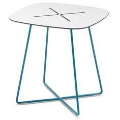 Cross End Table