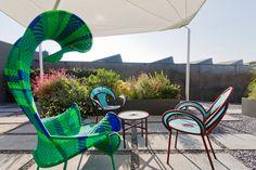 The #amazing terrace of our #creativedirector's office Monica Ciabattini. Every single item is a #design #masterpiece by the italian company #Moroso. Discover more on #LeSilla at www.lesilla.com