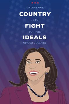 """""""To love our country is to fight for the ideals of our country."""" - Kamala Harris Democratic National Convention, Kamala Harris, Our Country, Joe Biden, Our Love, Everything, Inspirational Quotes, Life Coach Quotes, Inspiring Quotes"""