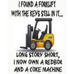 Funny, but it makes a good point #forklift