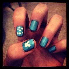 Disney nails (: