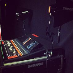Randy Houser's monitor console is a thing of beauty!
