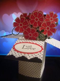 With Love Pop-up Card-in-a-Box