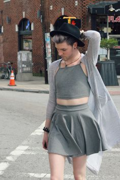 Elliott Alexzander | transgender/genderfluid Fashion More