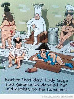 Thanks but no thanks, Lady Gaga
