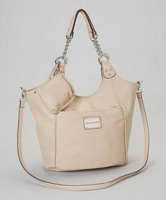 Take a look at this Tan Chain Mineta Tote by Franco Sarto on today! Nice Handbags, Best Handbags, Franco Sarto, Totes, Take That, Chain, Fashion, Nice Purses, Moda
