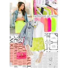 """""""''We'll be burning up like neon lights..''"""" by felytery on Polyvore"""