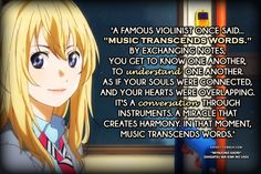 your lie in april quotes - Google Search
