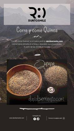 Corre y come Quinoa