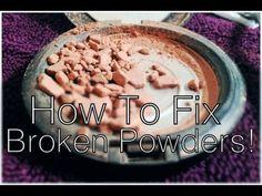 Ne le jetez plus ça! Vous avez besoin d'un seul élément pour réparer de la poudre à maquillage cassée - C'est fait maison !