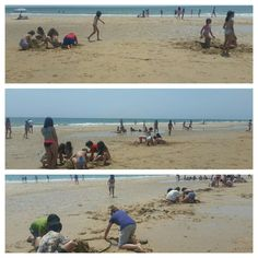 #primariasekelcastillo  @institucionsek 5EP Nos refrescamos un poco en la playa