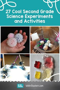 27 Cool Second Grade Science Experiments and Activities For The Classroom and Beyond. Give second grade science students some hands-on experience with earth science, states and properties of matter, life cycles, and more. Earth Science Experiments, Easy Science, Science For Kids, Science Activities, Science Projects, Weird Science, Science Lessons, Second Grade Science, Teaching Second Grade