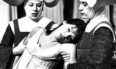 Charlotte Corday (Glenda Jackson), Marat/Sade, Peter Brook