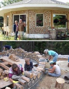 how to build a cordwood masonry home by Asmodel