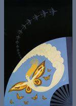 ERTE - romana de Tirtoff (Эрте - Роман Тыртов), графика Эрте, сериграфия
