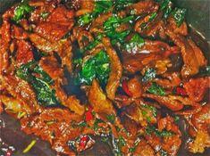 I huvudet på och i köket hos Monika Ahlberg. Thai Recipes, Asian Recipes, Beef Recipes, Spicy Thai, Food Decoration, Happy Foods, China, Ratatouille, Wok