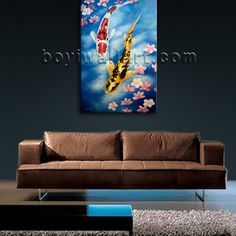 1 Panel(s) Split High quality canvas print on artist canvas. It is very nicely designed art Feng Shui in Abstract style. This piece is great for interior home or office decor and it's absolutely stunning and would give great ambiance anywhere it is hung.