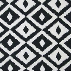 black ikat outdoor fabric - Google Search
