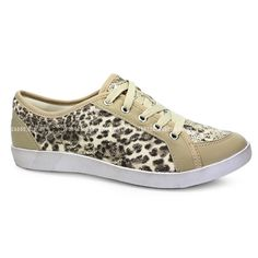 Tenis Casual Feminino Dakota - B4857 - Trigo Natural