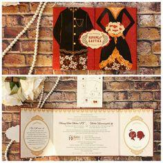 Vinas invitation . Traditional. Wedding invitation. Wedding design . Flower theme. Shabby chic design. Any question pls visit us at website www.vinasinvitation.com. Courtesy of Hanang & Kartika