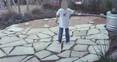 How To Flagstone Patio | How to lay a flagstone patio for outdoor living space | Digging