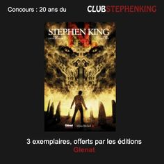 """Reminder : Glenat offers us copies of the graphic novel """"N."""" in the #StephenKingContest    Link to the contest >>> http://clubstephenking.com"""