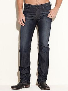 Shop men's denim at Guess.com today and be fashionable!Guess is known for their sexy, trendsetting and all american look with a touch of European. Check this item from their latest collection of men's denim. Tough distressing gives these Lincoln jeans a worn-in look and feel, and their slim fit lends a modern edge to the classic straight leg cut.     Please visit: http://shop.guess.com/Catalog/Browse/Men/Features/New%20Denim