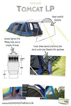 Outwell Tomcat LP 2015 Tent Review