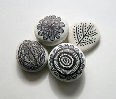 Sharpie marker rocks
